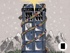 Timey Wimey Christmas Greeting Cards