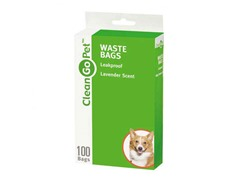Clean Go Pet Baby Powder Scent Waste Bags 100ct 3-Pack