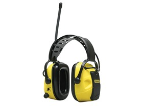 Stanley AM/FM Earmuff with AUX Input