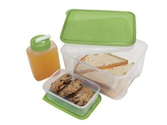 Oggi Rectangular Chill-To-Go Container