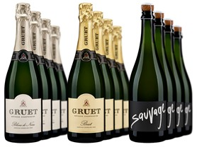 Gruet Sparkling Mixed Case