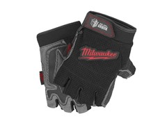 Fingerless Work Gloves, Medium