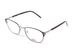 Plum/Silver CL1178 Optical Frames