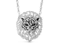 Swarovski Elements Lion Statement Necklace