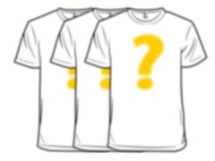 Random Shirt 3-Pack