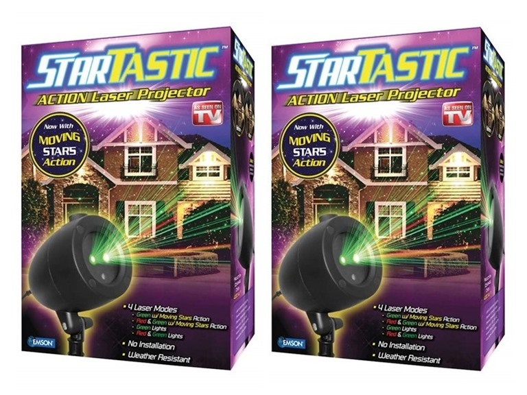 Startastic Action Light Projector, 2-Pack