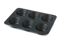 Prep-Co Jumbo Muffin Pan - Grey