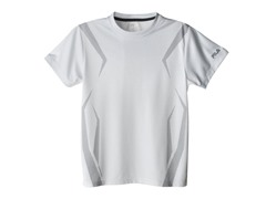 Boy Screened Athletic Tee - Arctic White