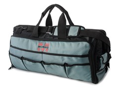 24-Inch Tool Bag w/ Tray, Black and Gray
