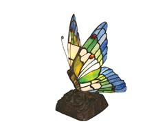 6.5-inch Tiffany-Style Butterfly Lamp
