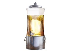 Austin Beverage Dispenser with Ice Bucket