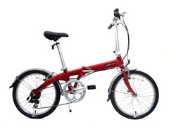 Dahon Eco C7 Folding Bike, Brick