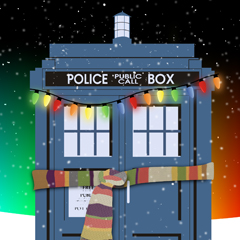 Holiday Police Box