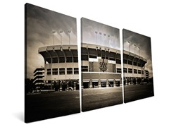 NCAA Stadium Canvas Triptych