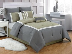 Contempo 8Pc Comforter Set-3 Sizes