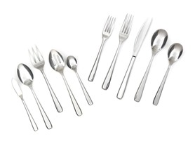 Cambridge 18/10 Joli 45-Pc Flatware Set