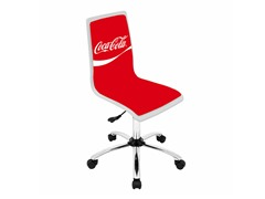 Coca-Cola® White Office Chair