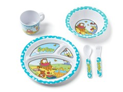 5-Piece Melamine Set - Garfield
