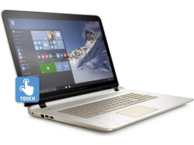 "HP 17.3"" AMD A4 Quad-Core Touch Laptop"