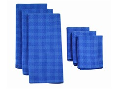 Heavyweight Dishtowel Set-Blueberry