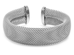 Stainless Steel Adjustable Mesh Cuff