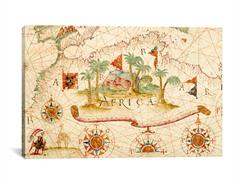 Antique Map - Africa  26x18