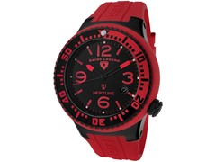 Men's Neptune Watch - Red/Black