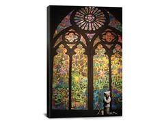 Stained Glass Window Graffiti