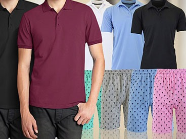 Men's Apparel by Harvic