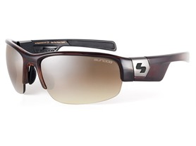 Sundog Evo Sunglasses- Demi/Brown Mirror