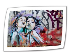 Sisters by Alice Pasquini - Rolled Canvas