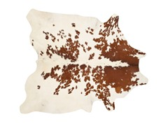 "Natural Cowhide 4'6""x6'6"" (5 Colors)"