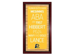 "Indiana Pacers 16"" x 32"" Sign"