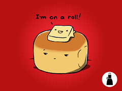 I'm on a Roll! Apron