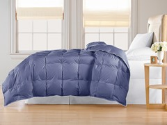 Down Alternative Comforter-Navy-King