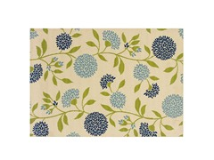 Cottage Blue Rug-8 Sizes