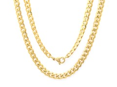 "18kt Plated 24"" Cuban Chain"