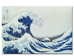 Hokusai Great Kanagawa Wave (2 Sizes)