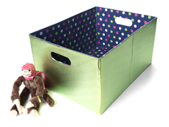 Lime Foldable Storage - Large