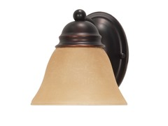 "1-Light 7"" Vanity, Mahogany Bronze"