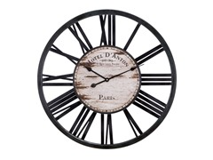 Hotel D'Anton Wood Wall Clock
