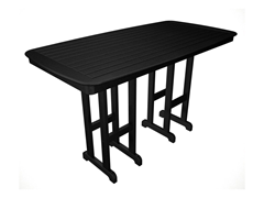 Nautical Bar Table, Black
