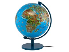 "DinoZ 11"" Illuminated Globe"
