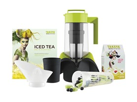 Takeya 2 QT Deluxe Iced Tea System w/Fruit Infuser
