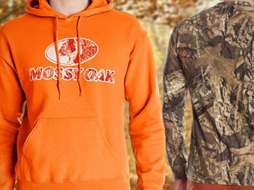All the Mossy Oak and Camo Tees and Hoodies