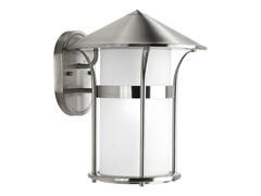 1-Light Wall Lantern, Stainless Steel