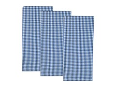 Nantucket Check Dishtowel Set-Blue