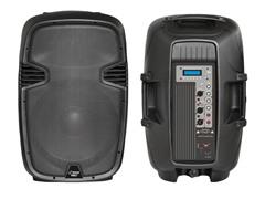 "12"" 1000W Powered Two-Way PA Speaker"