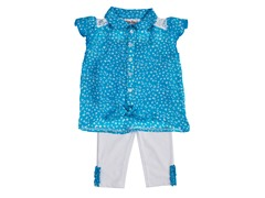 Little Lass 2pc Capri Set (12M)