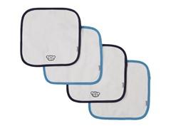 4-Pack Monkey Washcloth Set
